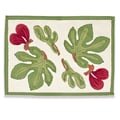 Couleur Nature Fig Red Green Placemat