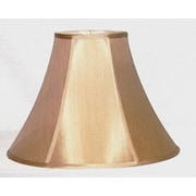 Lamp Factory 14'' Pongee Silk Bell Lamp Shade; French Beige