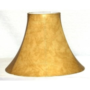 Lamp Factory 14'' Faux Leather Bell Lamp Shade
