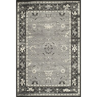 Momeni Vogue Charcoal Area Rug; Runner 2'3'' x 7'6''