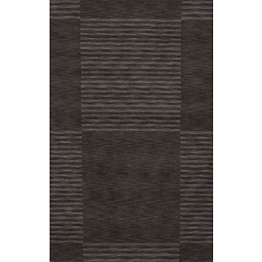 Momeni Gramercy Hand-Loomed Carbon Area Rug; 8' x 11'