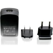 Iogear® 1A USB Power Adapter With US And EU Plugs, Black