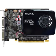EVGA® GeForce GT 740 2GB Plug-In Card 1059 MHz DDR3 Graphic Card