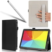 i-Blason Slim Book Leather Case For LG G PAD 10.1 Tablet, Black