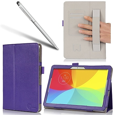 i-Blason SURFACE3-1F Slim Book Synthetic Leather Folio Case for 10