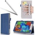 i-Blason Slim Book Leather Case For Samsung Galaxy Tab S 8.4, Blue
