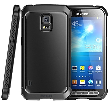 SUPCase Unicorn Beetle Premium Hybrid Protective Case For Samsung Galaxy S5 Active, Black