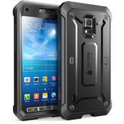 SUPCase Unicorn Beetle Pro Full body Hybrid Protective Case For Galaxy S5 Active, Black