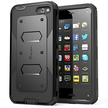 i-Blason Armorbox Dual Layer Hybrid Case For Amazon Fire Phone, Black
