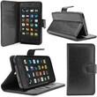 i-Blason Slim Leather Folio Wallet Case For Amazon Fire Phone, Black