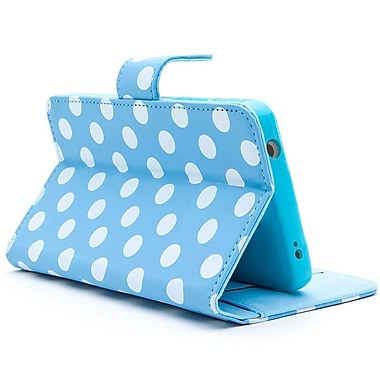 i-Blason Slim Leather Folio Wallet Case For Amazon Fire Phone, Dal-Blue