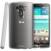 i-Blason Scratch Resistant Hybrid Hard Back Case With TPU Bumper For LG G3, Clear