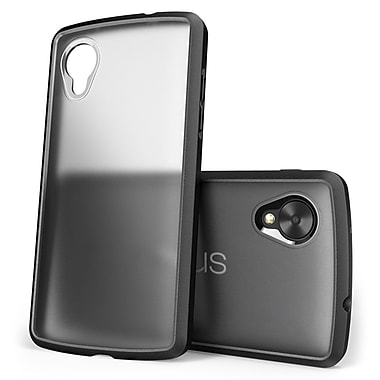 SUPCase Unicorn Beetle Premium Hybrid Protective Case For Google Nexus 5, Clear/Black