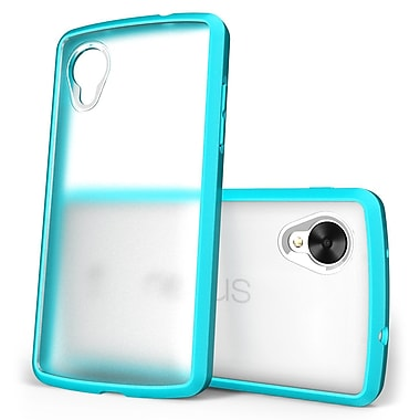 SUPCase Unicorn Beetle Premium Hybrid Protective Case For Google Nexus 5, Clear/Blue