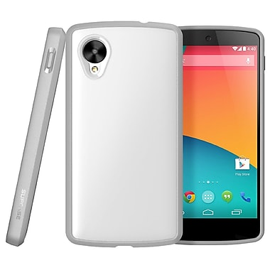 SUPCase Unicorn Beetle Premium Hybrid Protective Case For Google Nexus 5, White/Gray