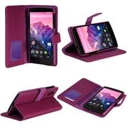 SUPCase Premium Wallet Leather Case For Google Nexus 5, Purple