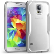 SUPCase Unicorn Beetle Premium Hybrid Protective Case For Samsung Galaxy S5, Clear/Gray