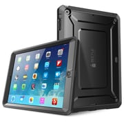SUPCase SUP-PAD5-DEF-BK Polycarbonate/TPU Beetle Defense Protective Case for Apple iPad Air, Black