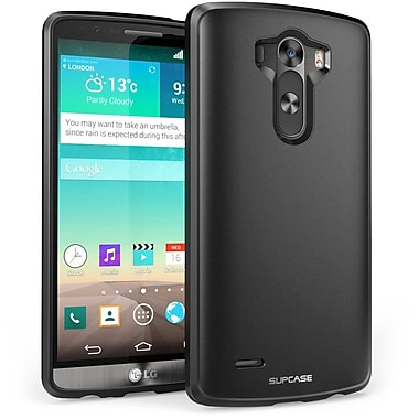 SUPCase Unicorn Beetle Premium Hybrid Protective Case For LG G3, Black/Black