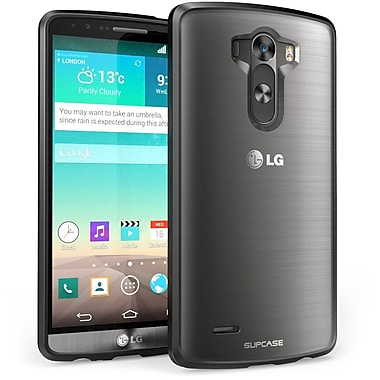 SUPCase Unicorn Beetle Premium Hybrid Protective Case For LG G3, Clear Black/Black