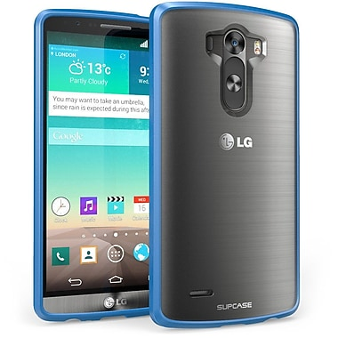 SUPCase Unicorn Beetle Premium Hybrid Protective Case For LG G3, Clear/Blue