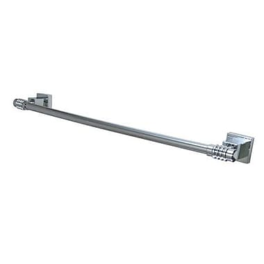 Elements of Design Fortress 24'' Wall Mounted Towel Bar; Polished Chrome