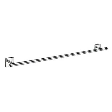 Smedbo House Single Wall Mounted Towel Bar; Polished Chrome