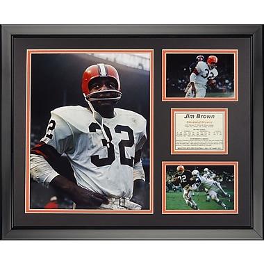 Legends Never Die NFL Cleveland Browns - Jim Framed Memorabili