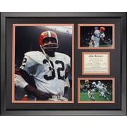 Legends Never Die Cleveland Browns - Jim Brown Framed Photo Collage