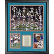 Legends Never Die Miami Dolphins - Dolphin Greats Framed Photo Collage