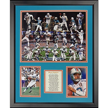 Legends Never Die NFL Miami Dolphins - Dolphin Greats Framed Memorabili