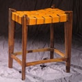 William Sheppee Old Glory City 28'' Bar Stool; Mustard