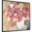Hobbitholeco. Fresh Floral by Mara Schiavetto Framed Painting