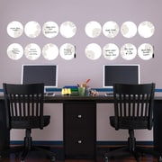 Brewster Home Fashions WallPops Kolkata Weekly Dots Whiteboard Wall Decal Set
