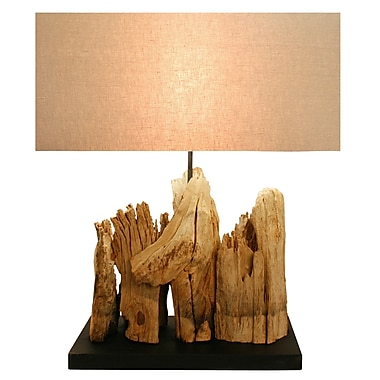 Bellini Modern Living 23.6'' Table Lamp with Rectangular Shade