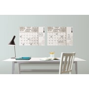 Brewster Home Fashions WallPops Kolkata Monthly Calendar with Notes Whiteboard Wall Decal Set