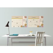Brewster Home Fashions WallPops St Tropez Monthly Calendar with Notes Whiteboard Wall Decal Set