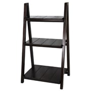Casual Home Manhasset Slatted 42'' Folding Bookcase; Espresso
