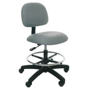 Industrial Seating Medium Height Office Chair; Blue