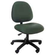 Industrial Seating High-Back Desk Height Office Chair; Black
