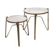 IMAX 2 Piece Marley End Table Set