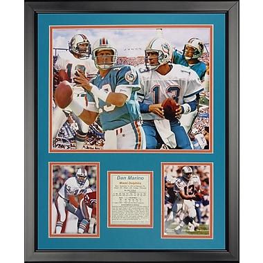 Legends Never Die NFL Miami Dolphins - Marino Collage Framed Memorabili