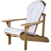 All Things Cedar Western Red Cedar Outdoor Adirondack Chair Cushion; Blue