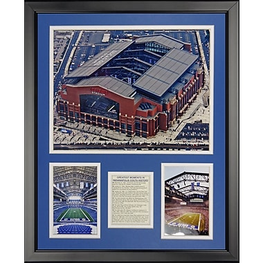 Legends Never Die NFL Indianapolis Colts - Lucas Oil Framed Memorabili
