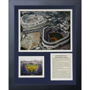 Legends Never Die New York Yankees - Old & New Contruction Framed Photo Collage