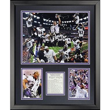 Legends Never Die NFL Baltimore Ravens - 2012 Champes Framed Memorabili