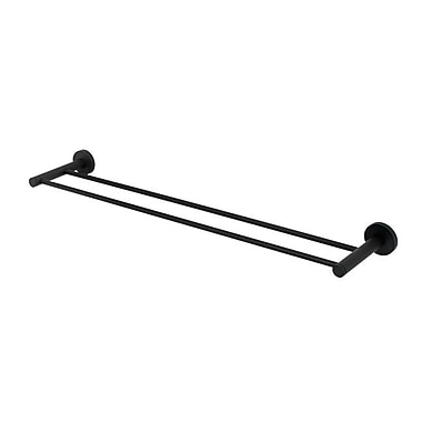 Alno Contemporary I Double 26'' Wall Mounted Towel Bar; Bronze