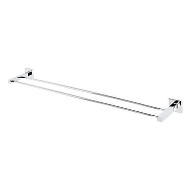 Alno Contemporary II Double 32'' Wall Mounted Towel Bar; Polished Chrome