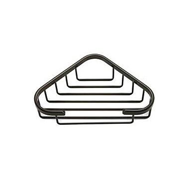 Berenson Corner Shower Basket; Oil Rubbed Bronze