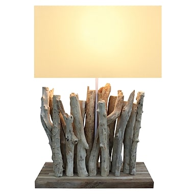 Bellini Modern Living 26'' H Twigs Table Lamp with Rectangular Shade